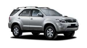 Toyota Fortuner 4dr 4 pers.
